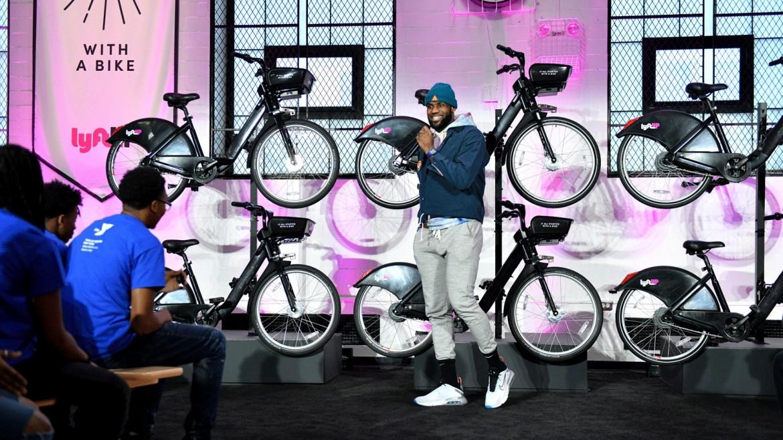 NBA Legend Lebron James Teams up with Lyft on Bikeshare Program