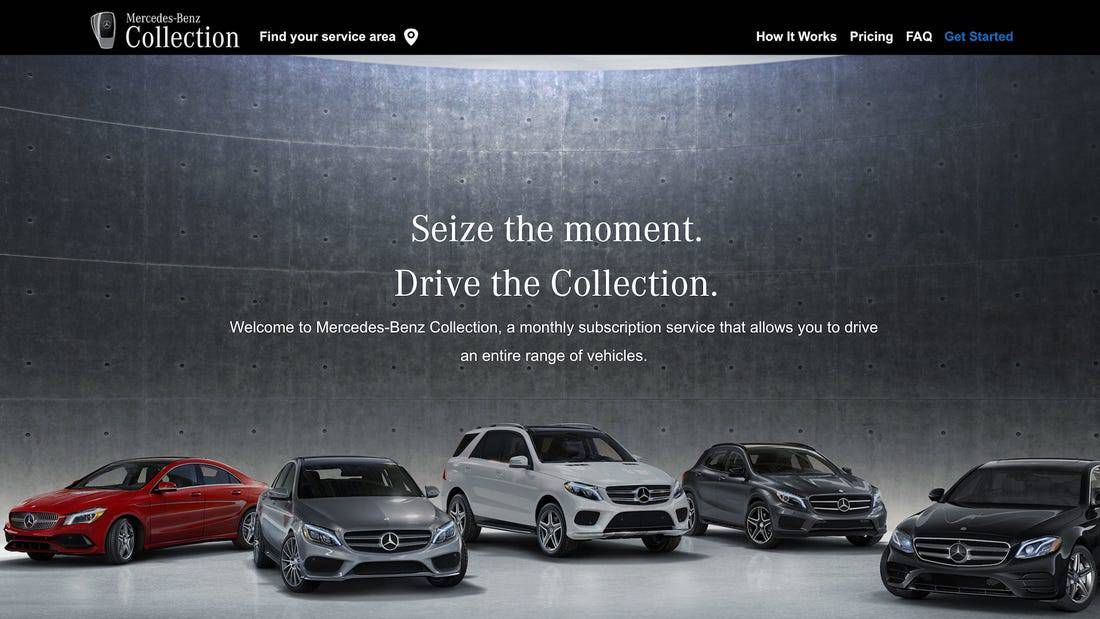 Mercedes-Benz Gains 'Valuable Insights' after Launching Car Subscription Service in Nashville