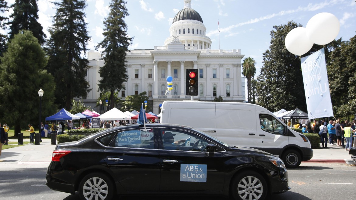 Uber Loses Early Challenge to California Gig-Worker Law